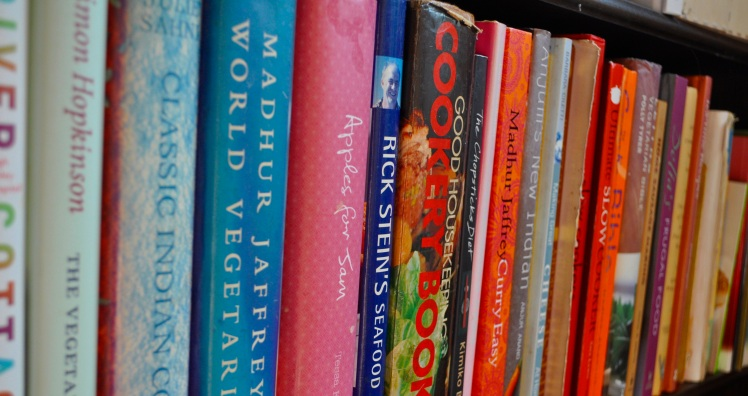 Cookery Book Shelf